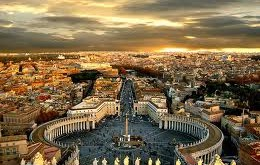 Aerial image of Rome