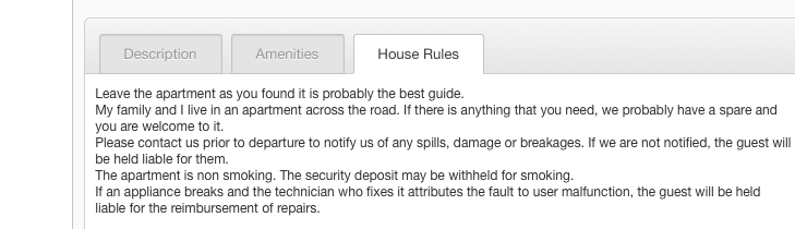 airbnb-house-rules
