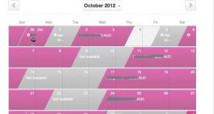 airbnb-calendar
