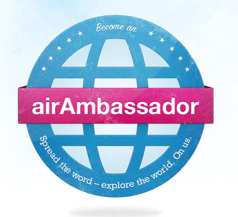 Logo of Airbnb Ambassador Program