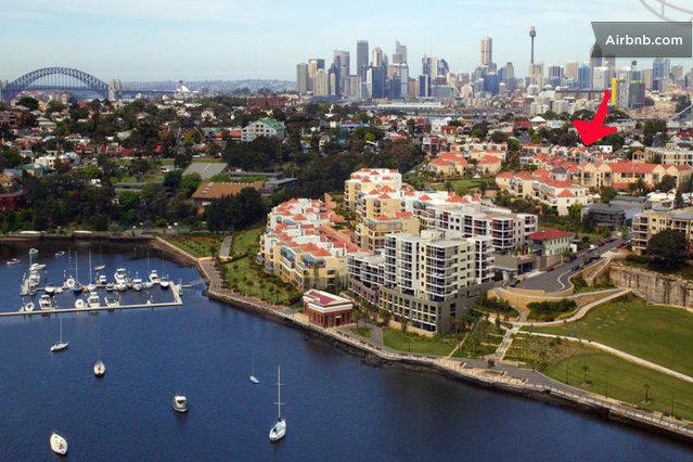 airbnb sydney location shot