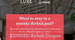 airbnb-100-coupo-code-luxe